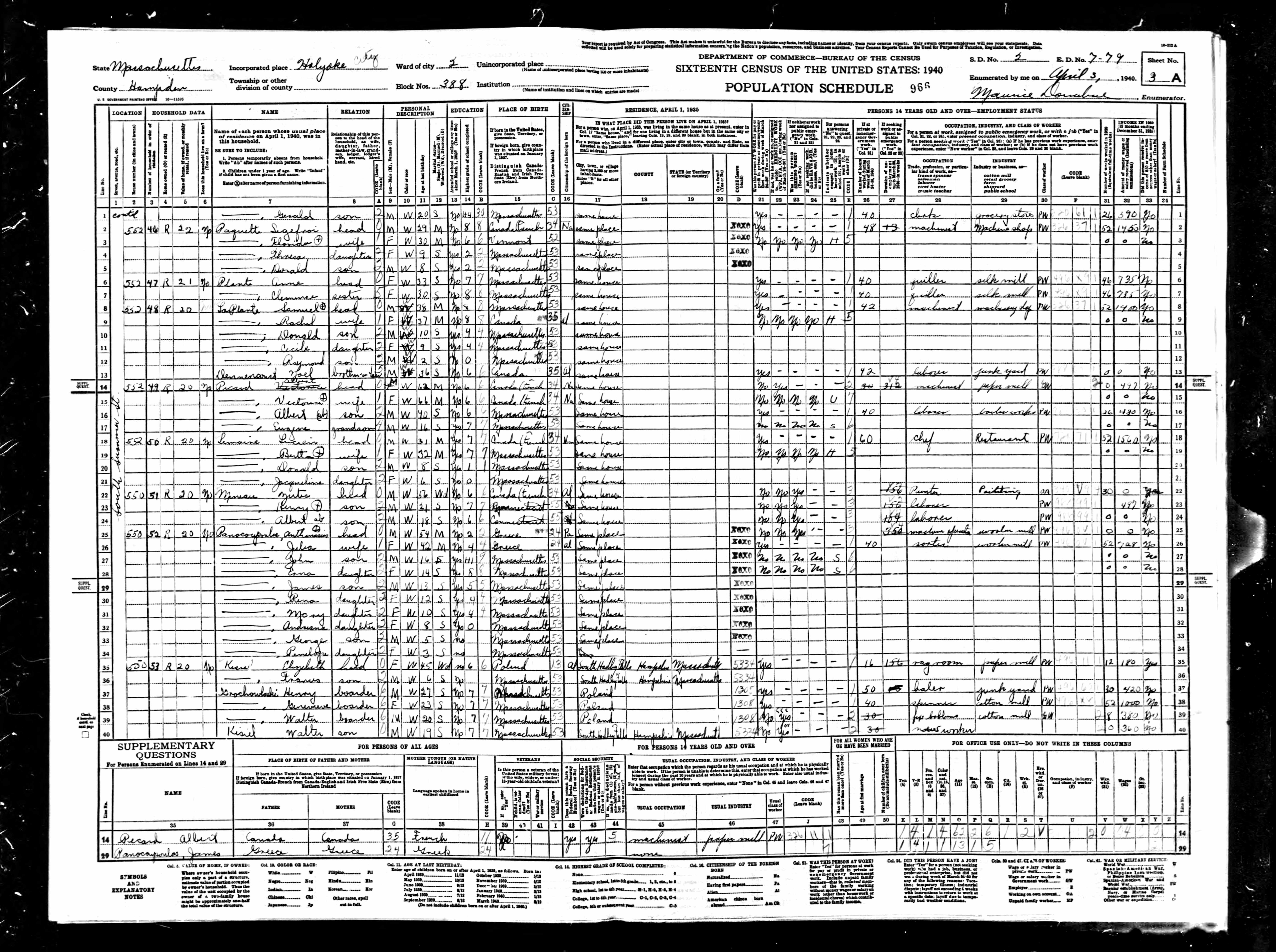 Markandjoanie genealogy grochowalski 18 jun 2010 holyoke massachusetts usa obituary emigration bef 1942 military wwii enlisted 4 sep 1942 springfield massachusetts aiddatafo Image collections
